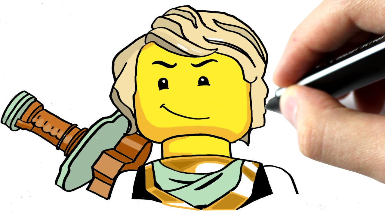 1280x720 Chris Dessine Lloyd De Ninjago