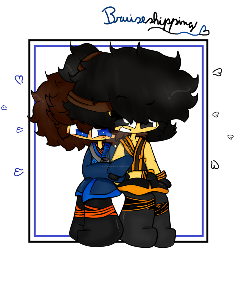 808x988 Ninjago!movie Bruiseshipping S2 By Raffaborboo