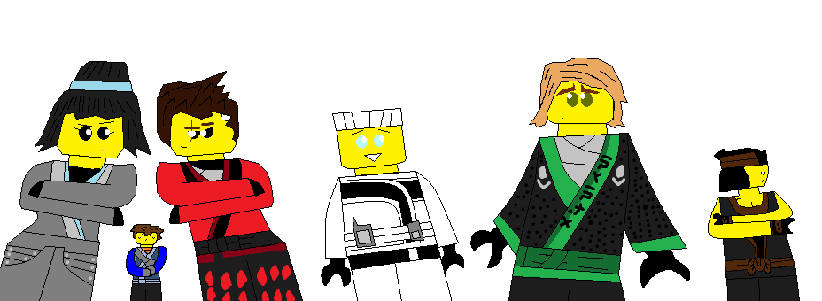 928x340 The Lego Ninjago Movie Ninjas By G1bfan