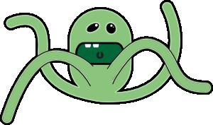 300x177 Cartoon Monsters Clip Art Free Vector 4vector