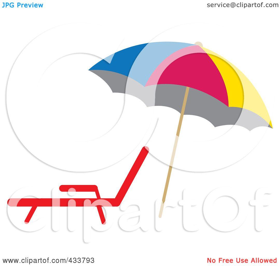 1080x1024 Colorful Beach Clip Art