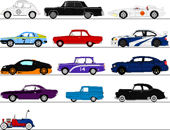545x417 Cars Sprites By Omega Steam