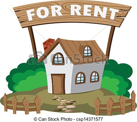 450x400 Rental House Clipart