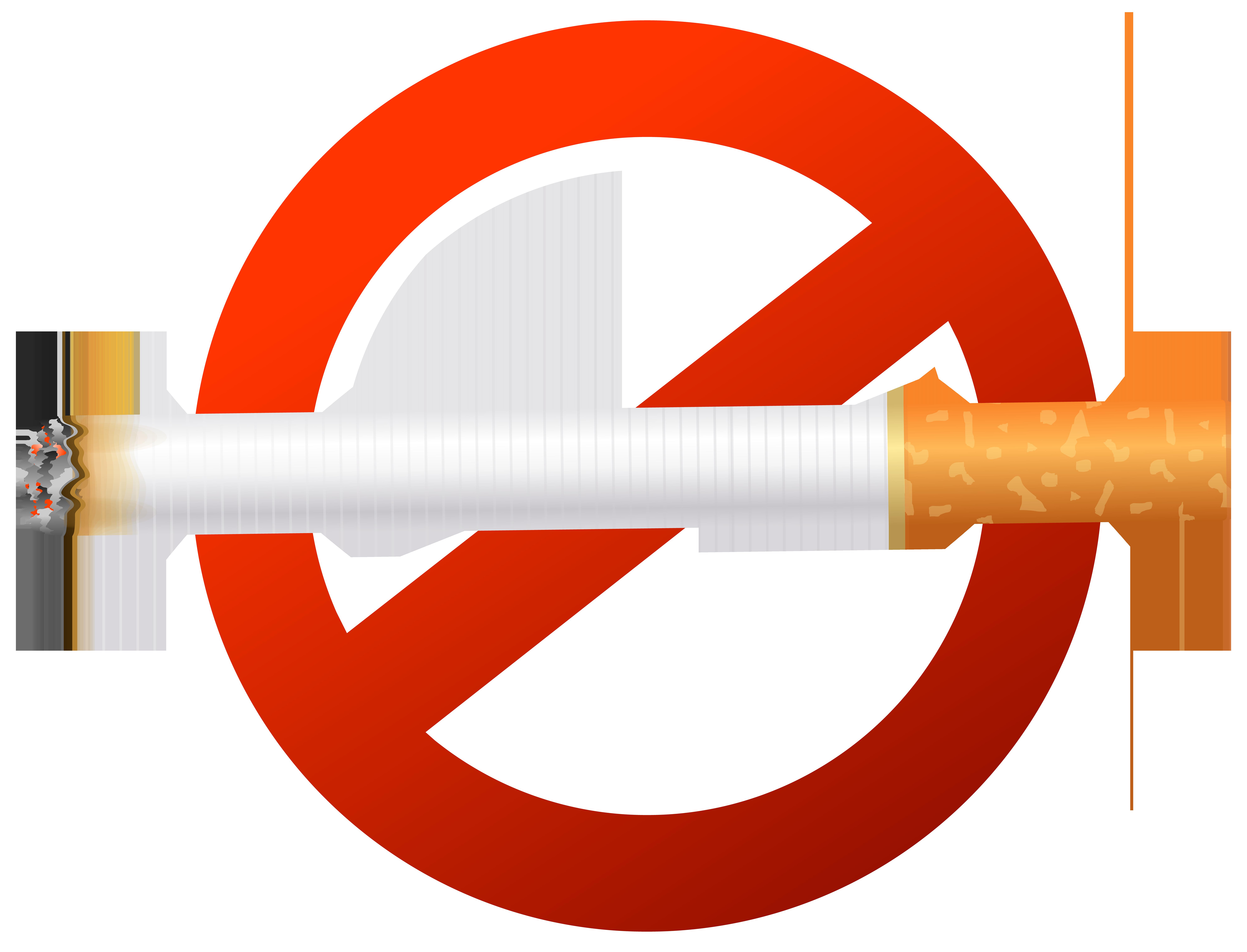 8000x6107 No Smoking Sign Png Clip Art