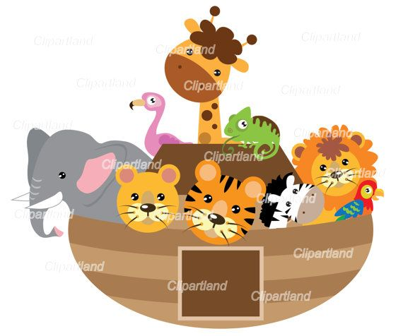 570x476 Instant Download. Noah's Ark Personal And Commercial Use Bag