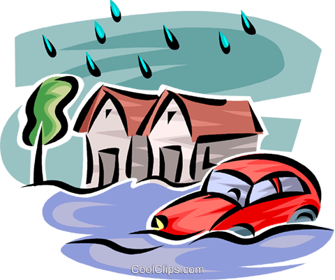 480x402 Flooded Clipart Calamity