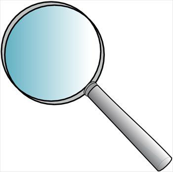 350x348 Check It Out! Spring Creek Magnifying Glass, Glass