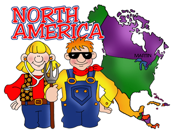 360x274 Free North America Clip Art By Phillip Martin
