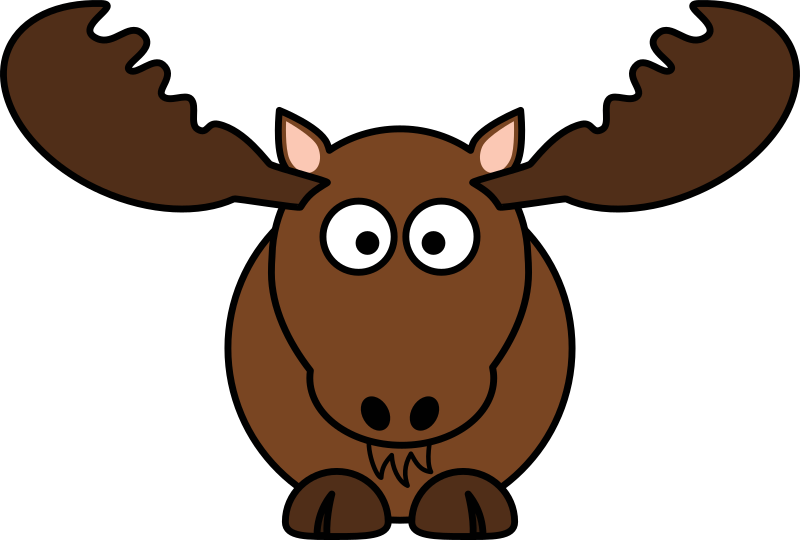 800x540 Funny Bull Cartoon Clipart
