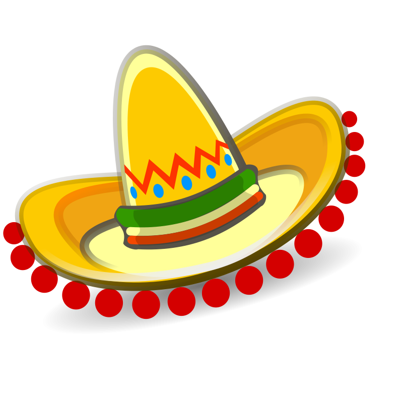800x800 Mexican Hat Clipart P North America Mexican Hat