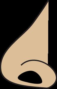 194x301 Free Nose Clipart Preschool Nose (Sense Of Smell)