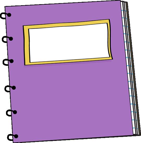 540x550 Notebook Clipart Purple Spiral Notebook Clip Art Purple Spiral