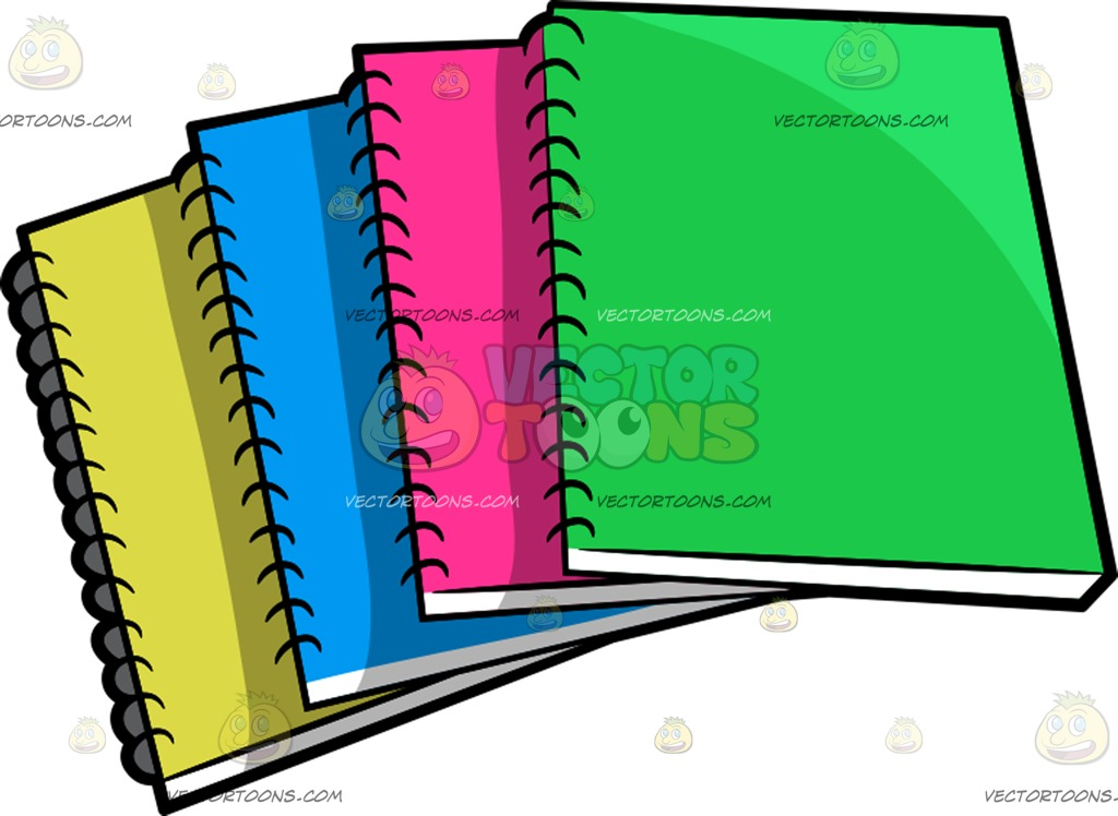 1024x748 Notepad Clipart Vector Toons