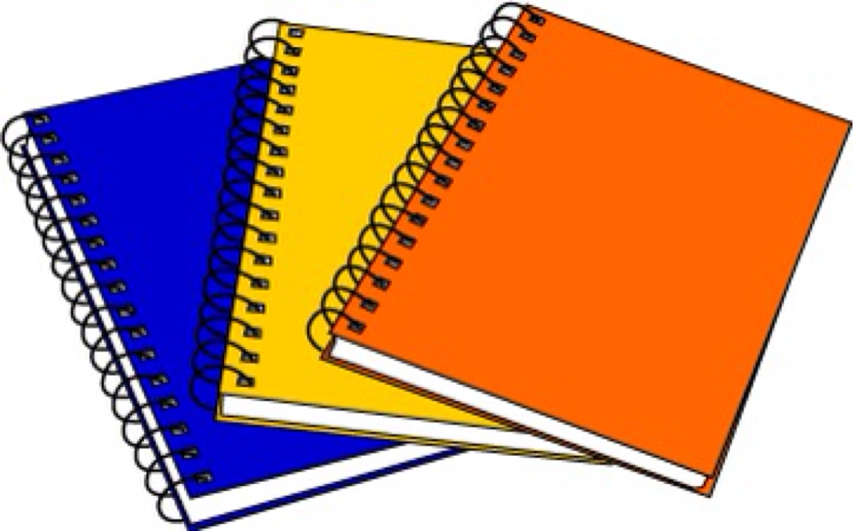1233x768 Awesome Notebook Clipart Gallery