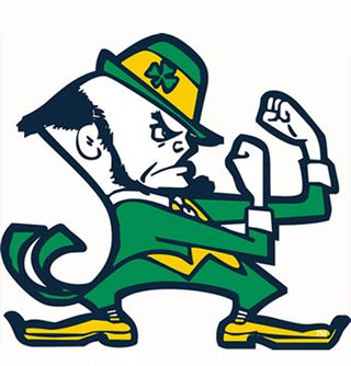 320x334 Clipart Free Fighting Irish Free Notre Dame Fighting Irish