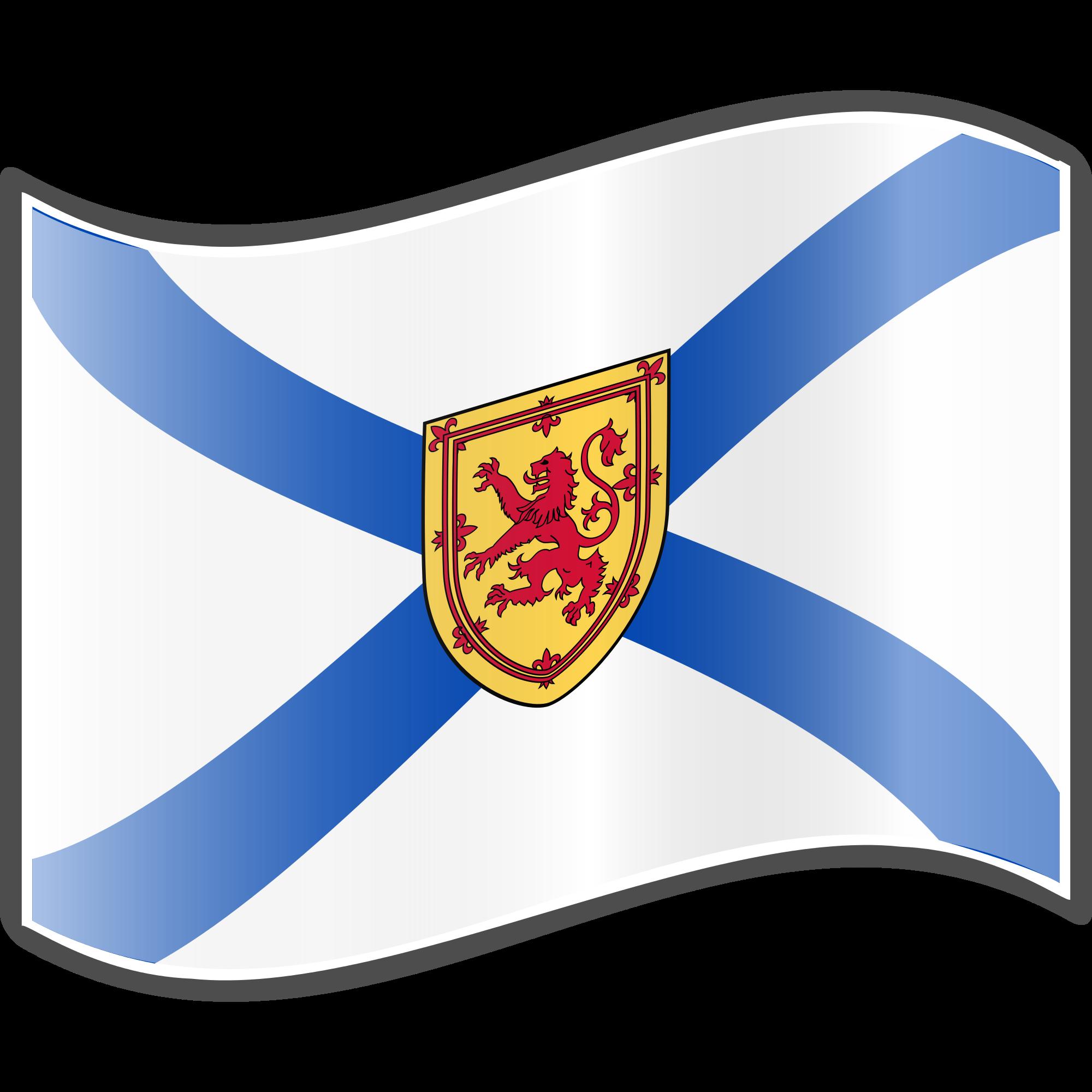 2000x2000 Flag Clipart Nova Scotia