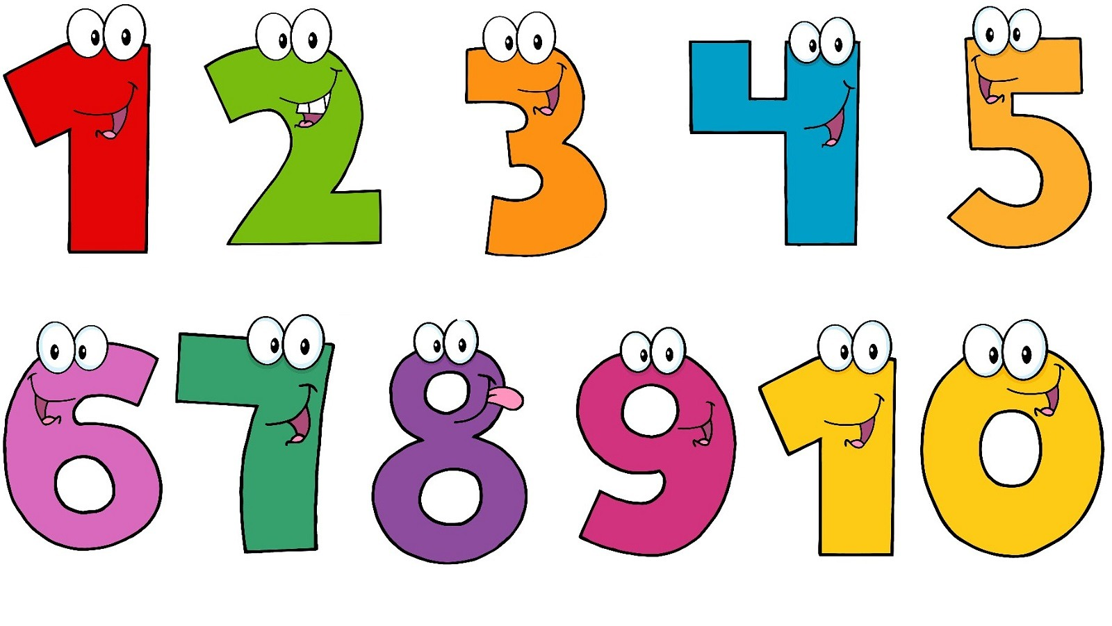 1600x901 Numbers 1 10 Clipart Numbers Clipart 110 8 Clipart Station Within
