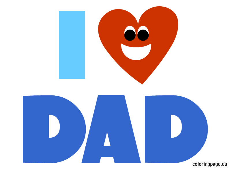 804x595 Love Dad Cliparts