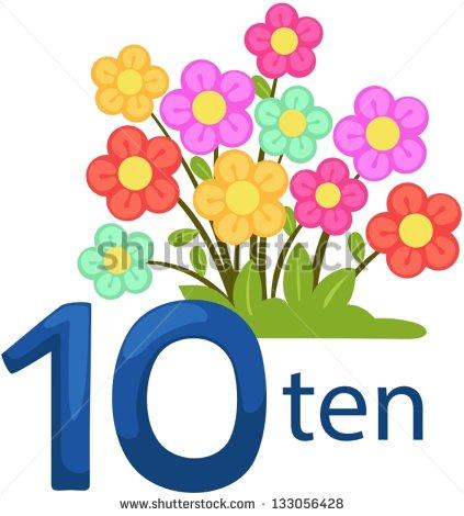 423x470 Flower Clipart Ten