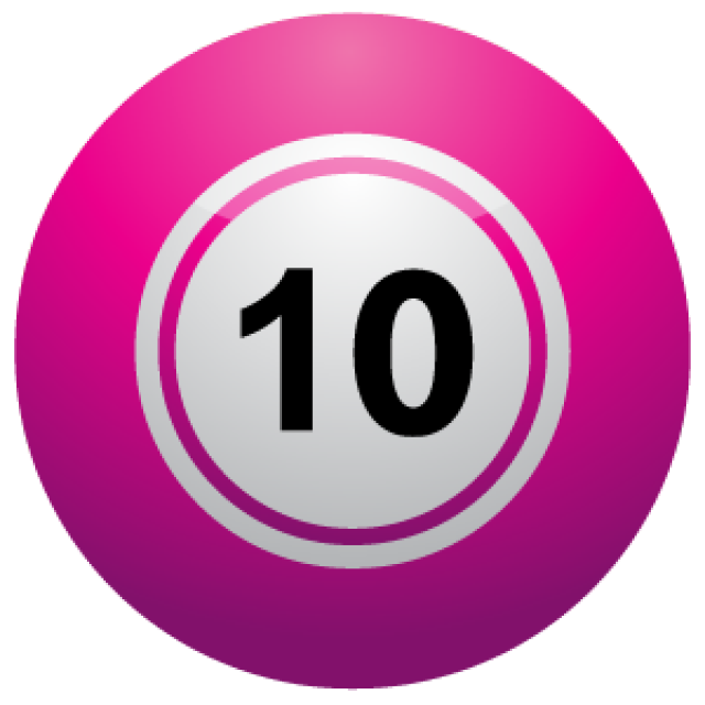 640x640 Number 10 Clipart