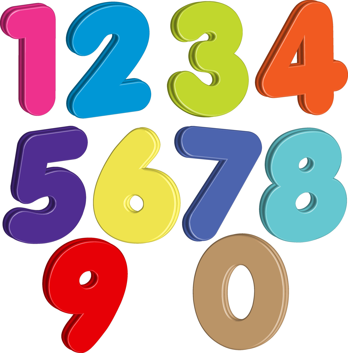 1476x1500 Unbelievable Design Numbers Clipart