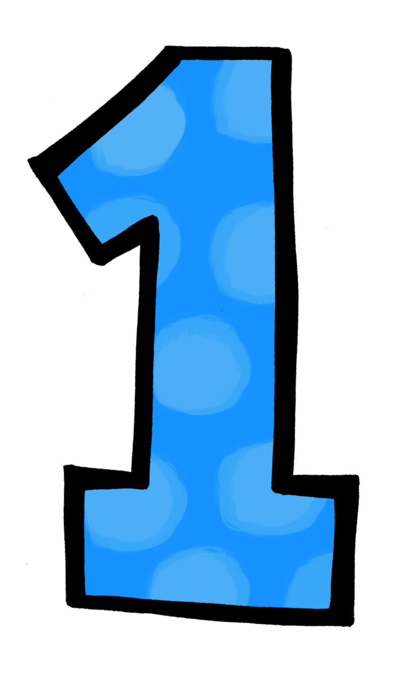 number 16 clipart at getdrawings com free for personal use number rh getdrawings com 1 clipart blue 1 clipart pink