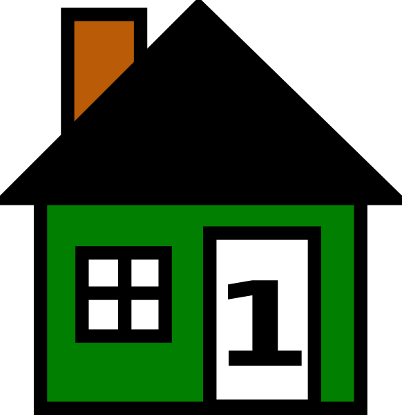 582x600 House Number Clipart