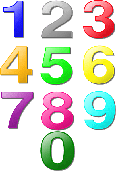 408x598 Number 1 Cliparts