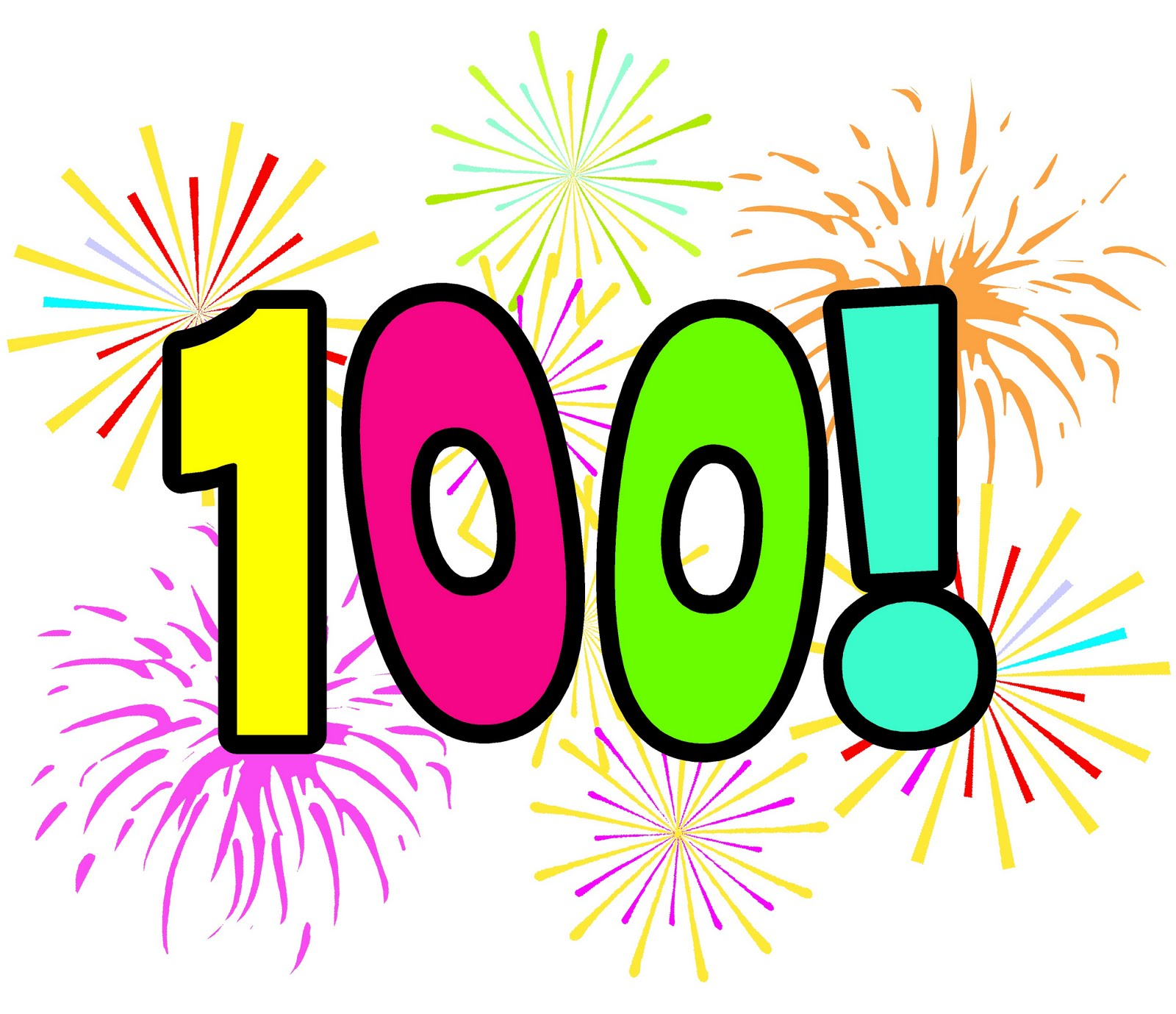 1600x1379 Number 100 Clipart 100 Day Clipart 17