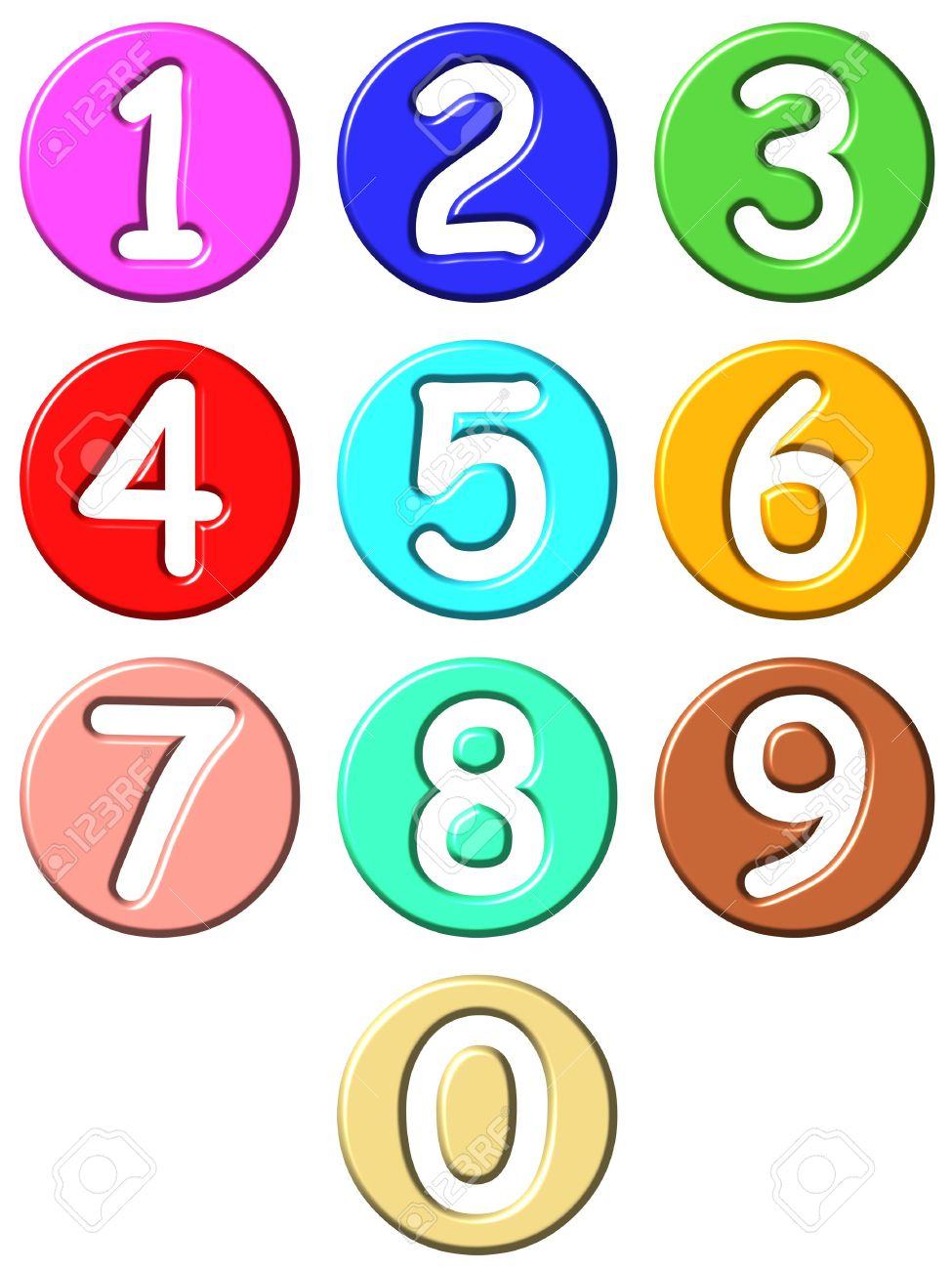 975x1300 Numbers Clip Art