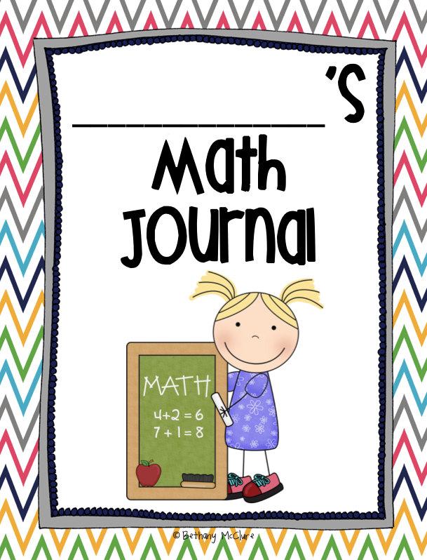 609x798 Math Journal Clip Art
