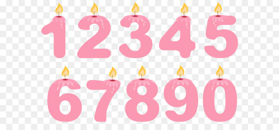 900x420 Birthday Cake Candle Clip Art