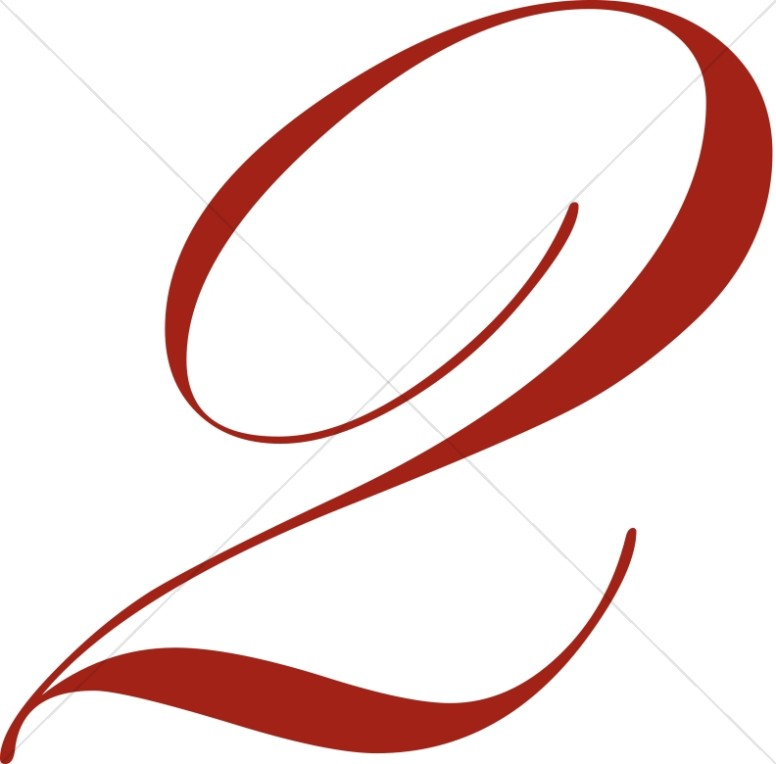 776x764 Red Number 2 Number Clipart