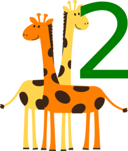 252x297 Collection Of Animal Number 2 Clipart High Quality, Free