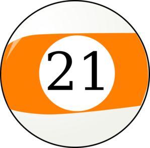 Number 21 Clipart