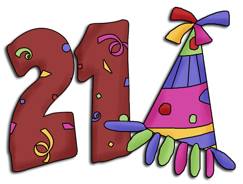 500x379 Collection Of Number 21 Clipart High Quality, Free Cliparts