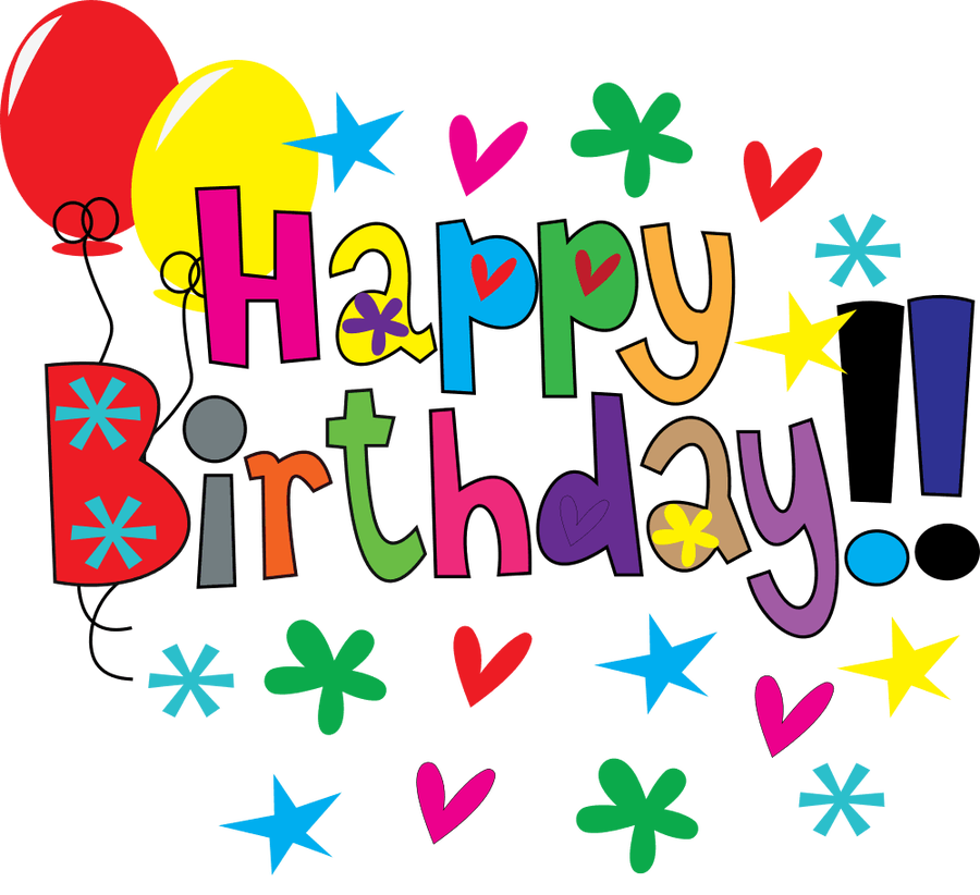 900x822 Happy Birthday Clip Art