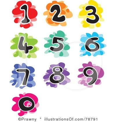 400x420 Numbers Clipart 1 5