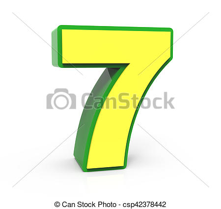 Number 7 Clipart