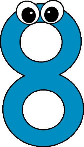 284x500 Number Clip Art