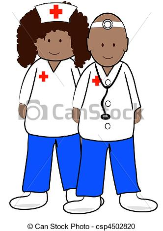 332x470 Clipart Of Doctors And Nurses