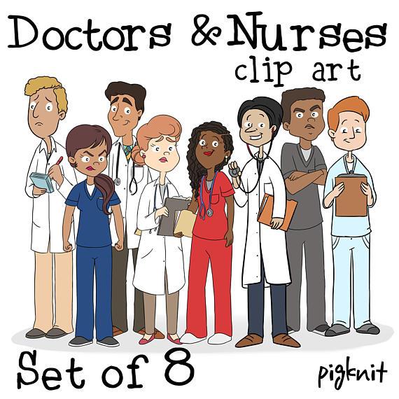 570x570 Doctor Nurse Clip Art Nurse Clipart Teacher Clip Art Doctor