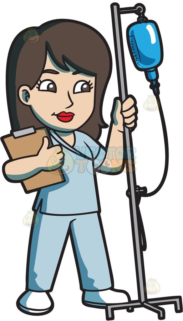 585x1024 Nurse Cartoon Pictures 12