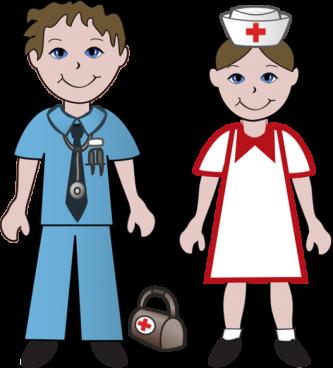 333x368 Nursing Cap Clip Art. Awesome Nurse Vaccination Boy Hospital