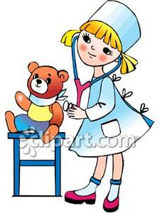 225x300 Collection Of Nurse With Kids Clipart High Quality, Free