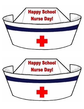 270x350 Happy School Nurse Day! Nurse Hat Cards School Nurse Appreciation