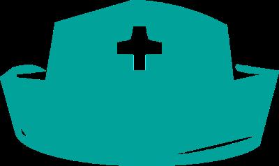 400x239 Nurse Hat Clipart Free