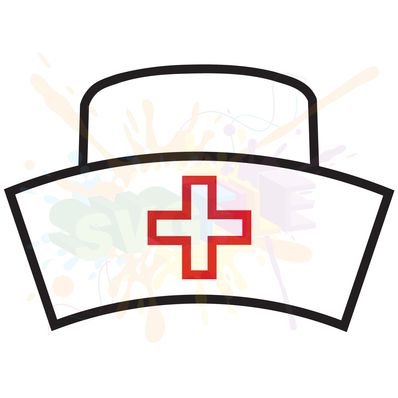 1500x1500 Nurse Hat Svg Files For Cutting Cricut Designs