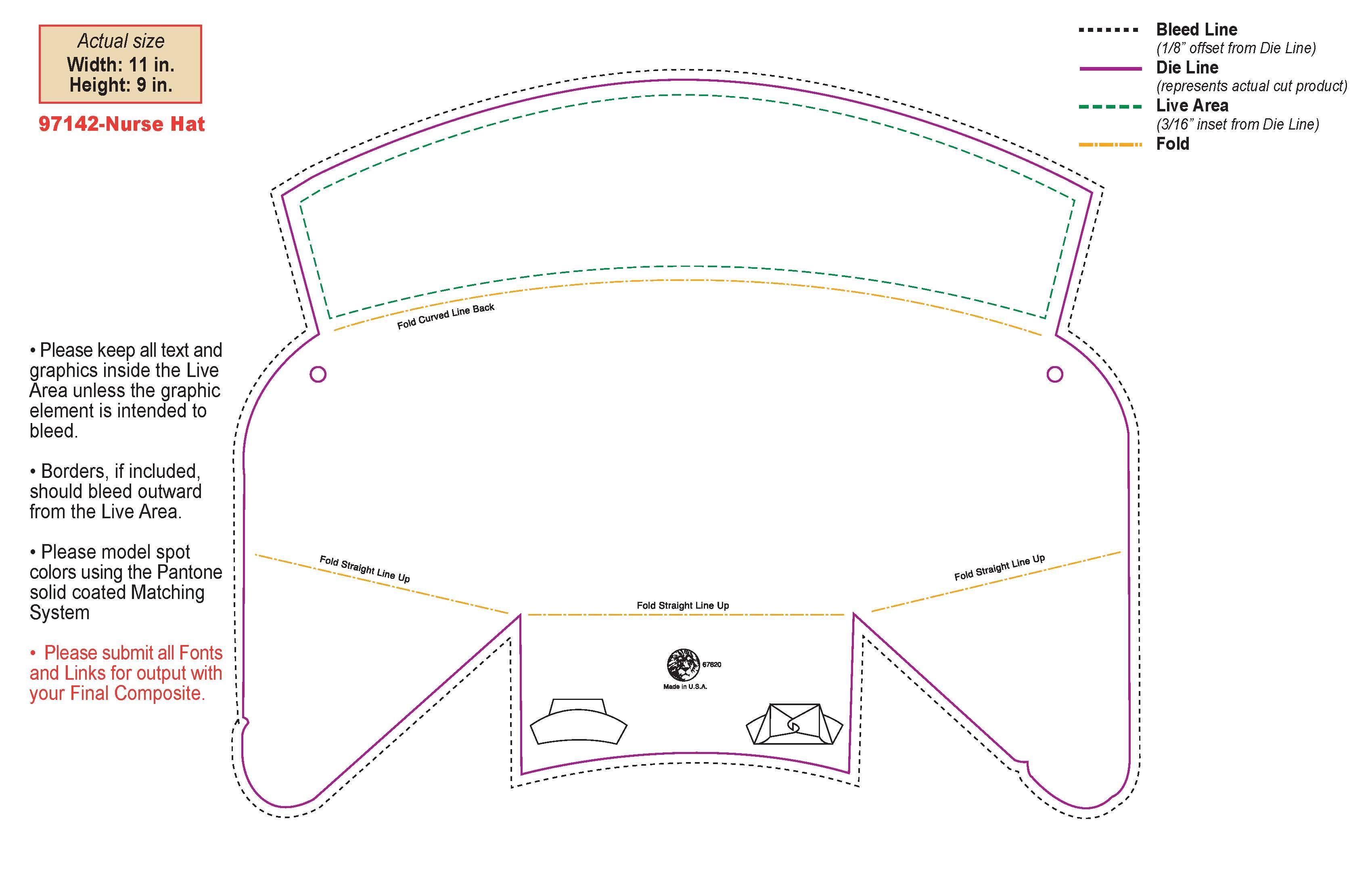 3400x2200 Clip Art Nurse Hat Clip Art