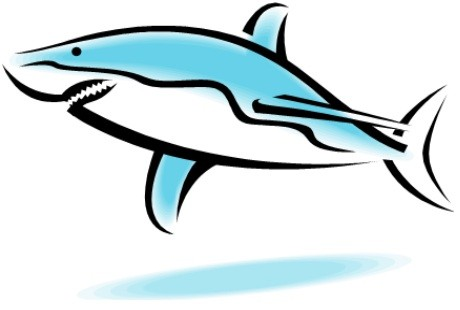 460x310 Great White Shark Clip Art Clipart Collection